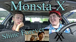 MONSTA X SHINE FOREVER MV Reaction Kihyun Fanboy