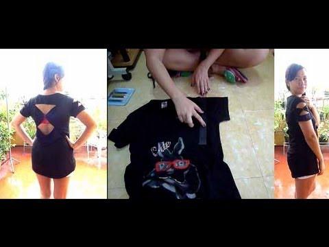 Diy Upcycled t Shirt Diy Upcycle Shirt no Sew