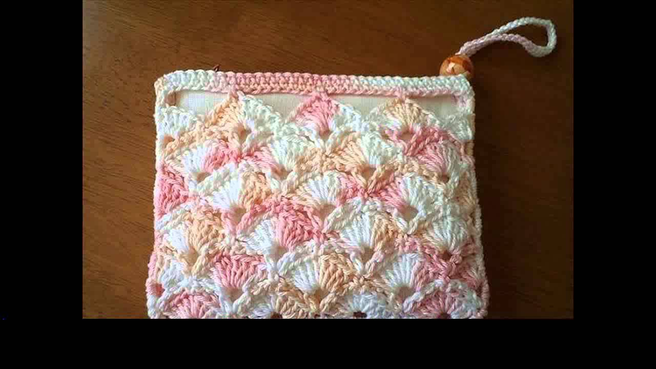 free crochet purse tutorial - YouTube