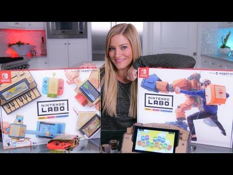 Nintendo Labo Unboxing!