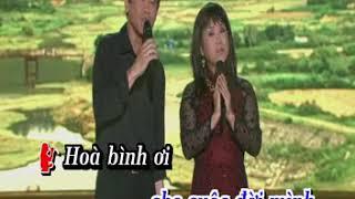 Karaoke- Music- Instrumental- Bài ca ngợi quê hương Thúy Nga