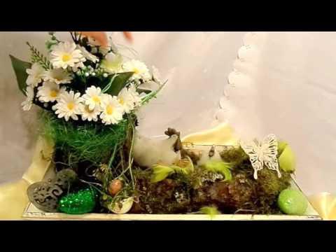 DIY :  FRÜHLINGS DEKO; Tisch -Garten Deko SELBER machen, DIY kekaplauderei