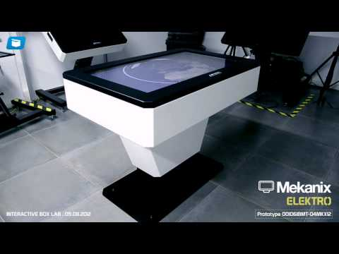 Motorized Interactive Desk: Mekanix Elektro