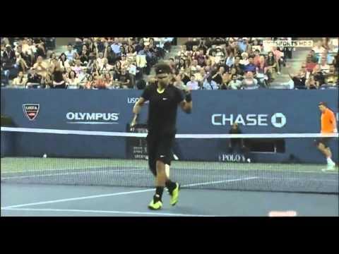 Rafael Nadal's Best Shots of 2010