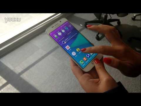 Ném cực mạnh Galaxy S6 Edge xuống đất mà... không