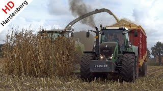 Fendt Power | Mais hakselen 2016 | Claas Jaguar 940 | Veltink | Hardenberg | Emlichheim.