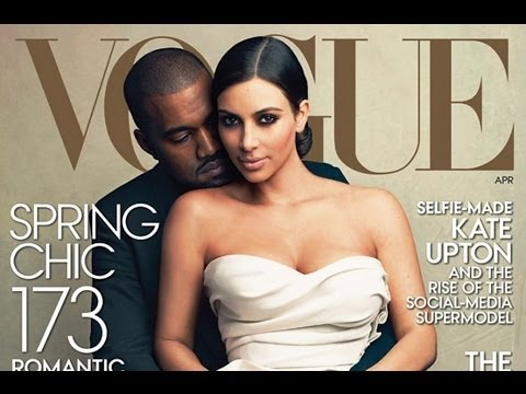 Kim Kardashian,  Kanye West make the cover of Vogue - The Secrets !