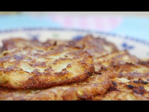 Оладьи из кабачков низкокалорийные (Zucchini fritters)