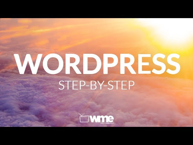 Wordpress Tutorial | How To Make A Website Properly With WordPress | Step By Step Video Training