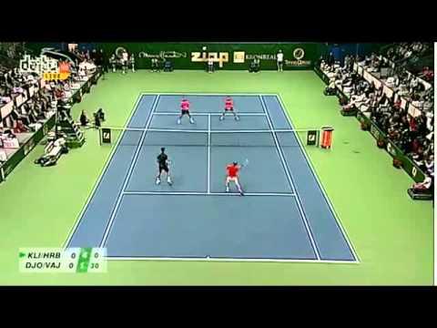 Tennis Classic 2012: Djokovic, Vajda, Klizan & Hrbaty in Bratislava, Exhibition doubles match