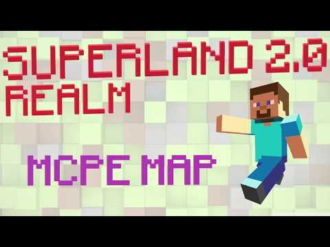 Superland 2.0 Realm | PvP & Minigame for MCPE