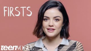 Lucy Hale on Her First Crush, First Screen Name and More | Firsts | Teen Vogue