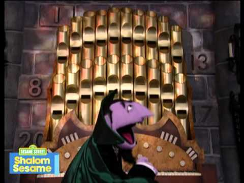 Shalom Sesame: The Count's Number of the Day- Echad
