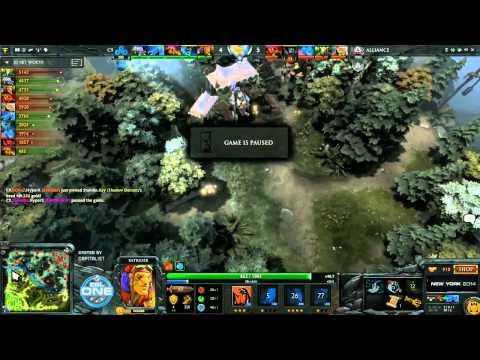 Alliance vs Cloud9 Game 1 - ESL One New York EU Qualifier - @DotACapitalist & @Ar1se_3020