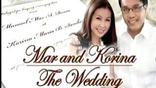 Korina Sanchez and Mar Roxas wedding