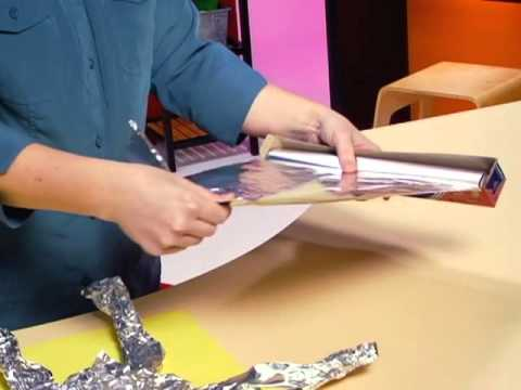 Tin Foil Art from ActivityTv