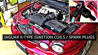 Jaguar X-TYPE Ignition Coil and Spark Plugs Replacement