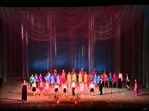 Отчетный концерт Оперно-балетной студии ГАБТ им.А.Навои