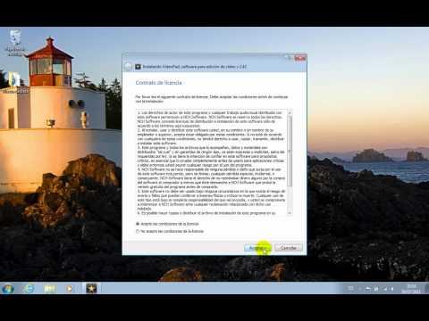 Editor de video en español VideoPad