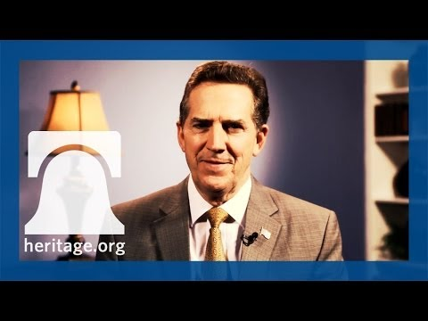 Happy Thanksgiving from Heritage Foundation President Jim DeMint
