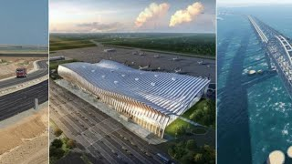 Crimea 2017: 🚘✈🌉 Development Powers On: Roads, Airport and Bridge!