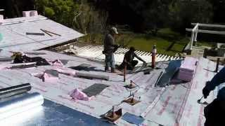 How to video: Installing a cool roof system with therma sheet,all done in 1 day...amazing!