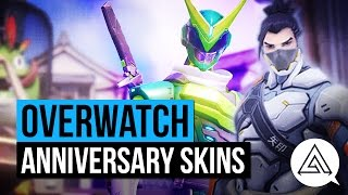 Overwatch   All New Anniversary Skins, Emotes, Voice Lines & More!