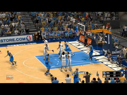 NBA 2K13: Playoffs Semi-finals GM2: Dallas Mavericks vs Denver Nuggets highlights