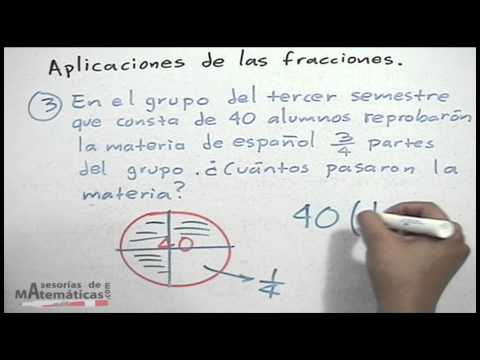 Aplicación de fracciones