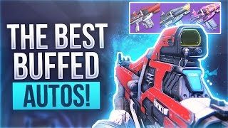 "Destiny THE NEW BEST BUFFED AUTO RIFLES - Destiny BUFFED ""RED SPECTRE, Shadow Price"" & More"