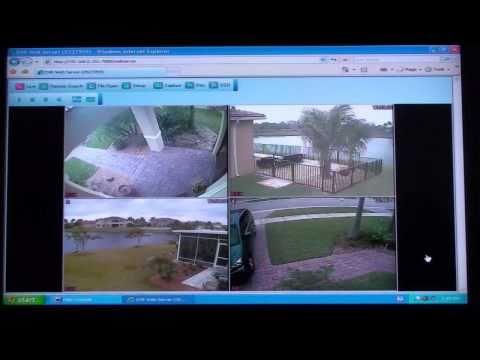 Surveillance DVR Remote Web Browser Viewing & Playback
