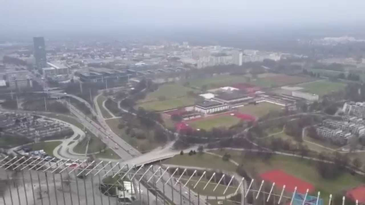 [View from Olympic Tower to Munich] Video