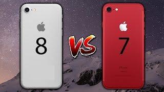 iPhone 8 vs iPhone 7 | Herhangi Bir Fark Var Mı?