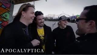 Apocalyptica - 'Quasimodo' - Video Webisode 4/11 of '7th Symphony'