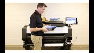 How To Replace a Maintenance Cartridge on an imagePROGRAF TX Printer
