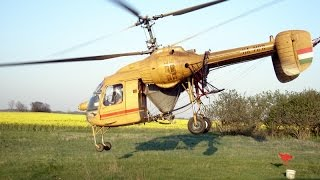 HA-MPR, Kamov Ka-26 - spraying rape field with insecticide