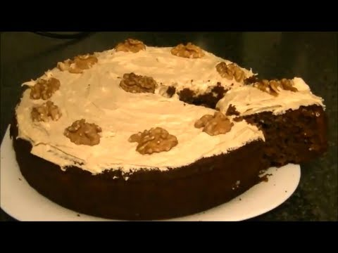 COFFEE & WALNUT CAKE *COOK WITH FAIZA*