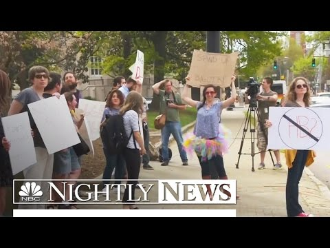 Big Businesses Join Pushback Over LGBT Laws In Georgia, North Carolina | NBC Nightly News