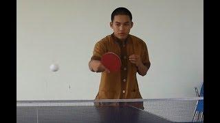 Bóng bàn cơ bản Việt Nam - Kỹ thuật đôi công trái tay
