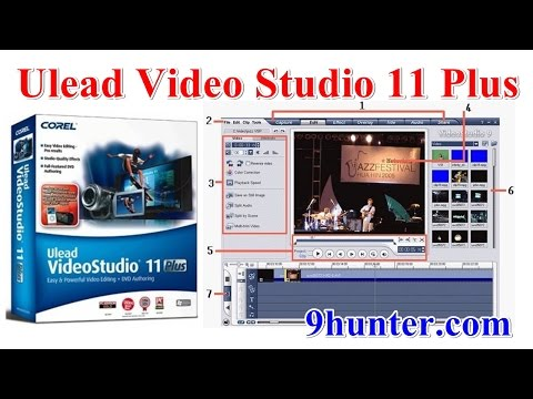 Ulead VideoStudio 11 Full ดาวน์โหลดและสอนวิธีติดตั้ง ถอนการติดตั้งโปรแกรมตัดต่อวีดีโอ