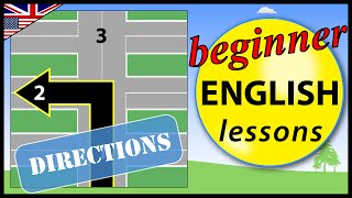Directions in English, Giving and Receiving Directions, Beginner English Lessons for Children