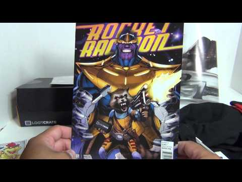 July 2014 LOOT CRATE Unboxing