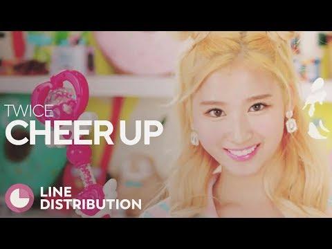 TWICE - Cheer Up (Line Distribution)