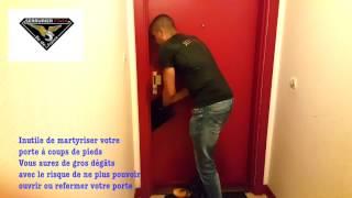 Comment ouvrir une porte claquée sans rien casser
