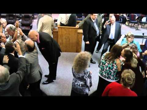 Singing, Testimony, Alter Service, Opening