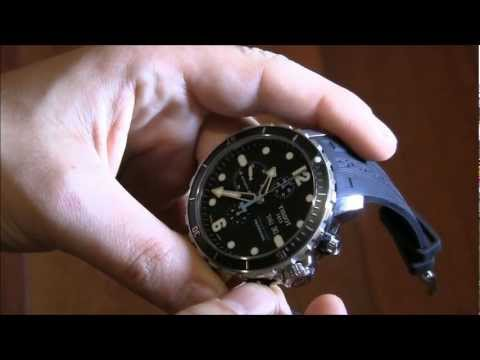 Tissot SeaStar 1000 Chronograph Valjoux Watch Review