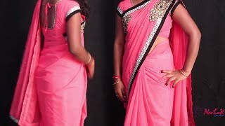 Basic Saree Wearing in 3 Minutes | Saree Wearing Tutorial For Girls and Women's
