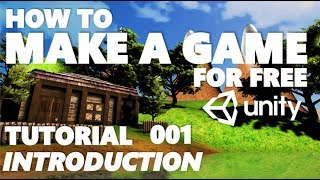 Unity Tutorial For Beginners - How To Make A Game - Part 001 - THE BASICS