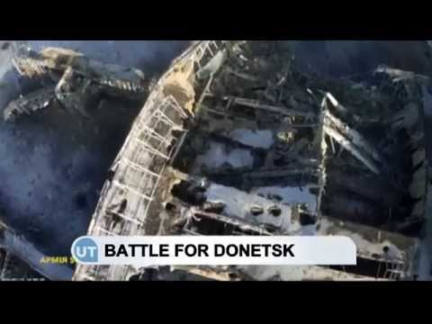 Battle for Donetsk Airport: Fighting has been dubbed 'Ukrainian Stalingrad'