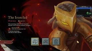 Slay the Spire Speedrun: Ironclad any% 4:30 (World Record)